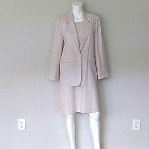 Sag Harbor 2 Piece Dress/Jacket. Sz 14, 10P